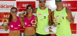 Guto/Carlão e Miriam/Aninha vencem